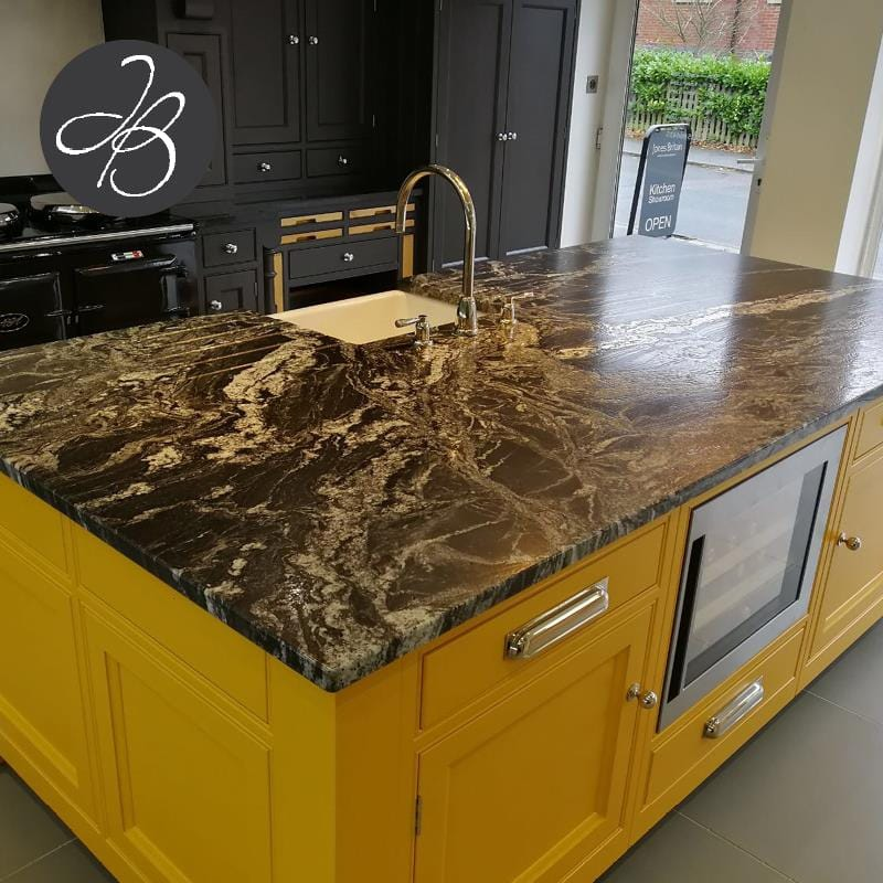 ... Crowborough Clients Kitchen Which Is A Fantastic Example On How To Be  Brave And Mix A Bold Blue With Other Natural Elements In Your Kitchen Design .